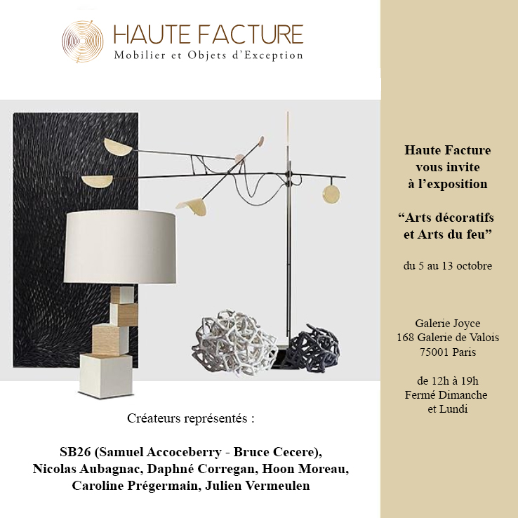 Exposition Haute Facture - Galerie Joyce