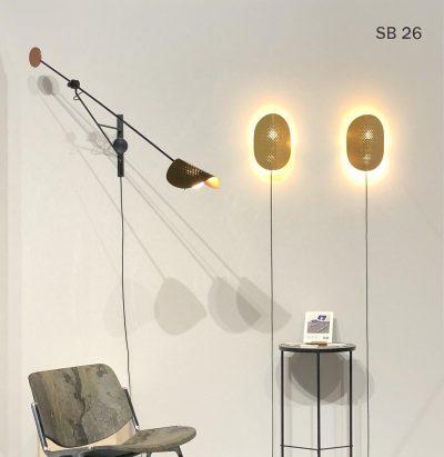 Small Moon wall lamp by SB26