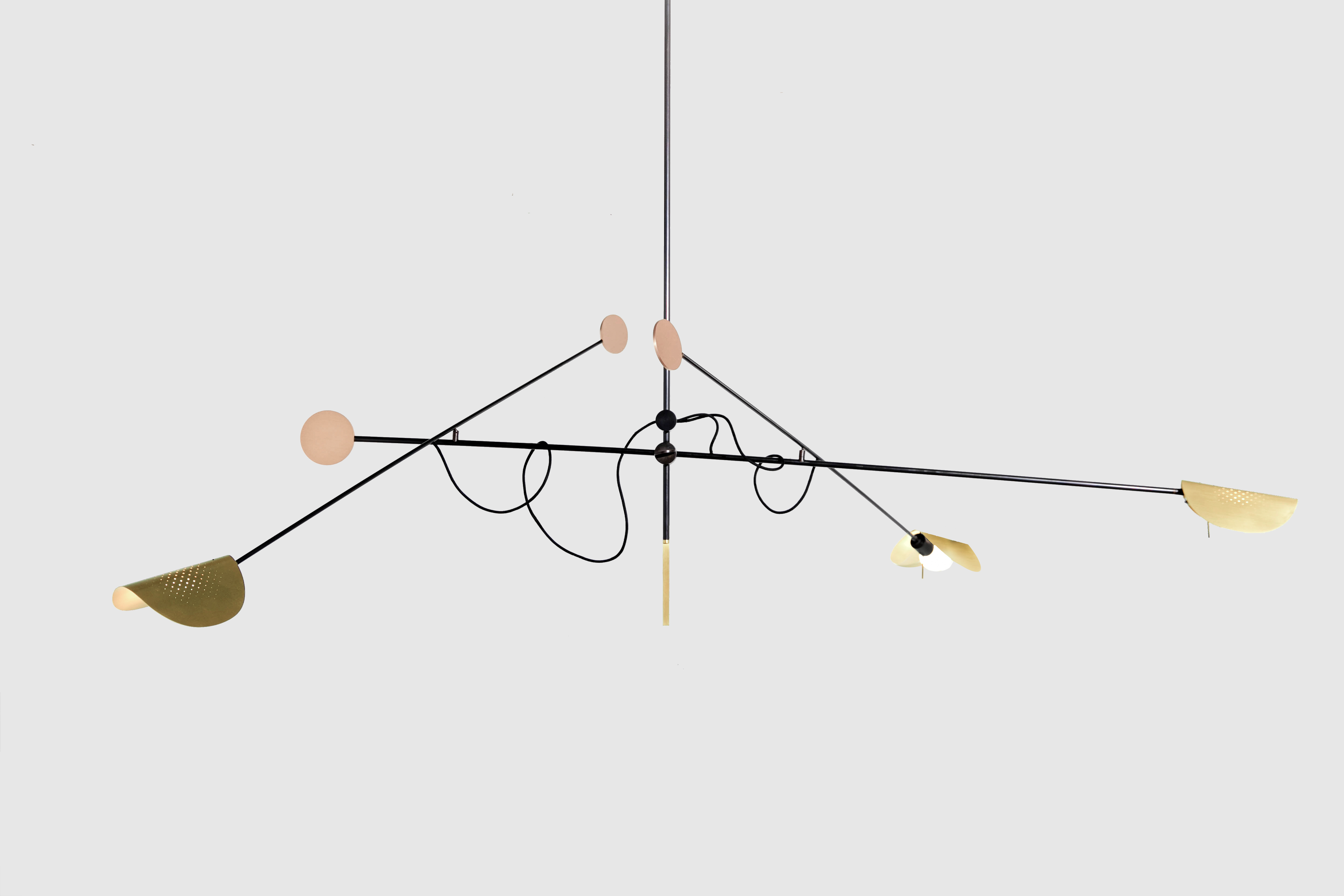 SB26 Accoceberry Cecere Moon Ceiling Lamp