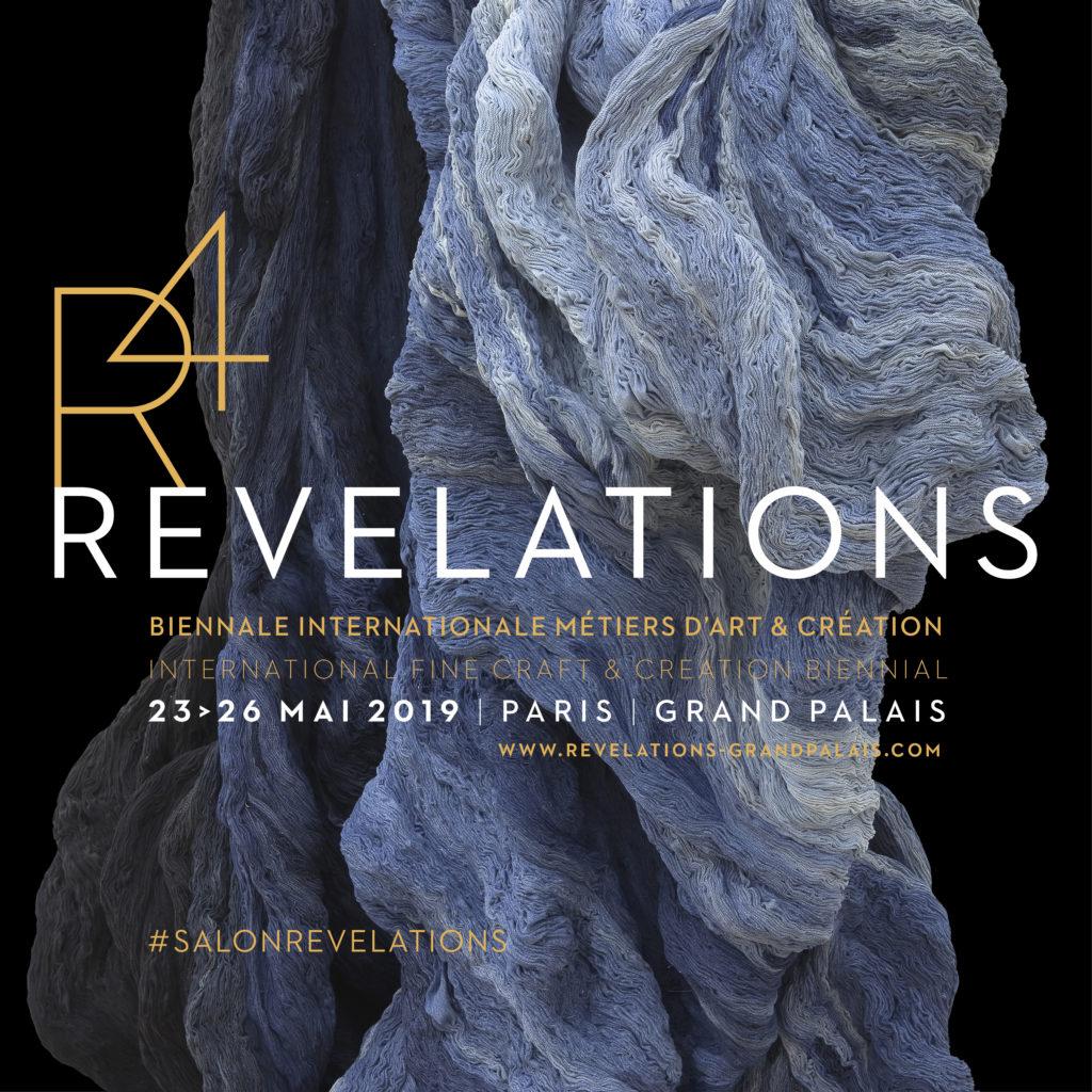 Affiche Biennale Révélations 2019